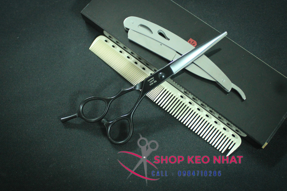 Kéo cắt tóc Hagane KN-08