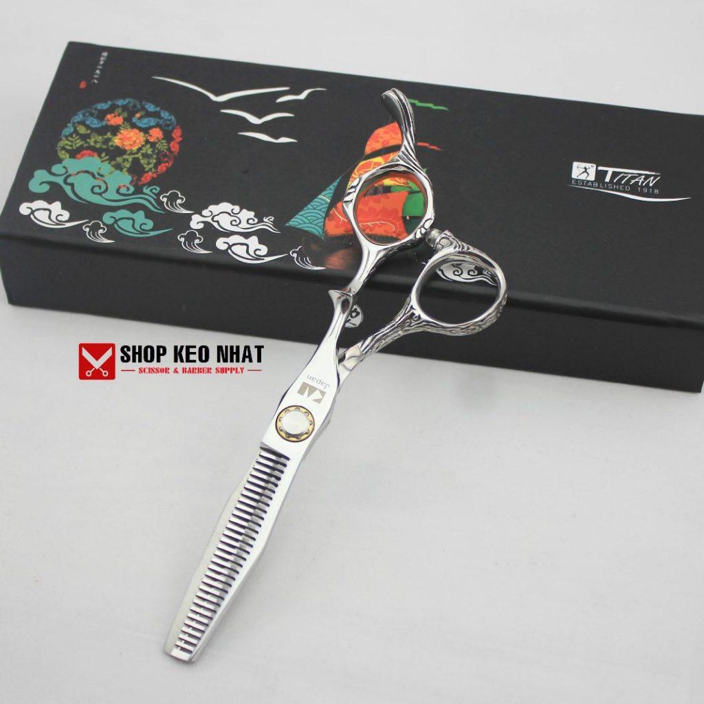 Kéo cắt tóc qui vênh kasho KN - 33