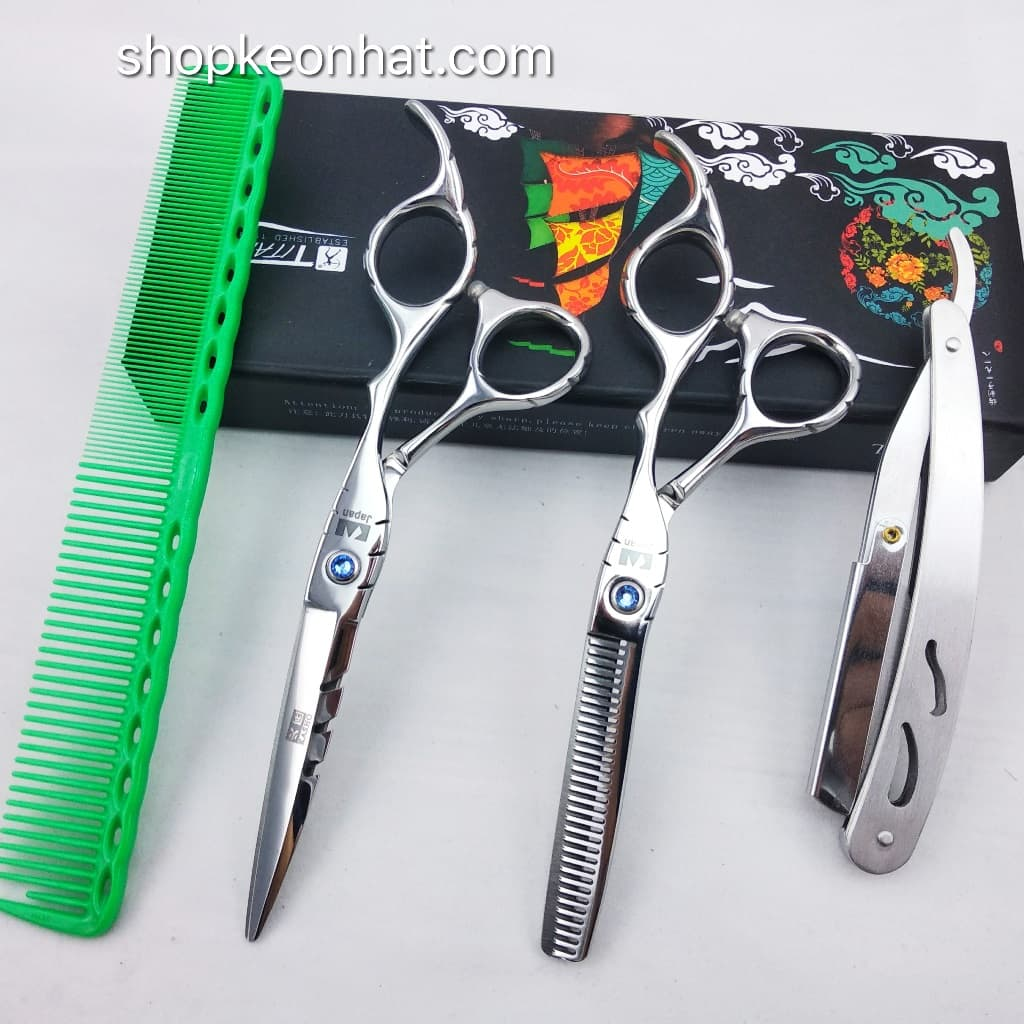 Kéo cắt tóc quai vênh Kasho