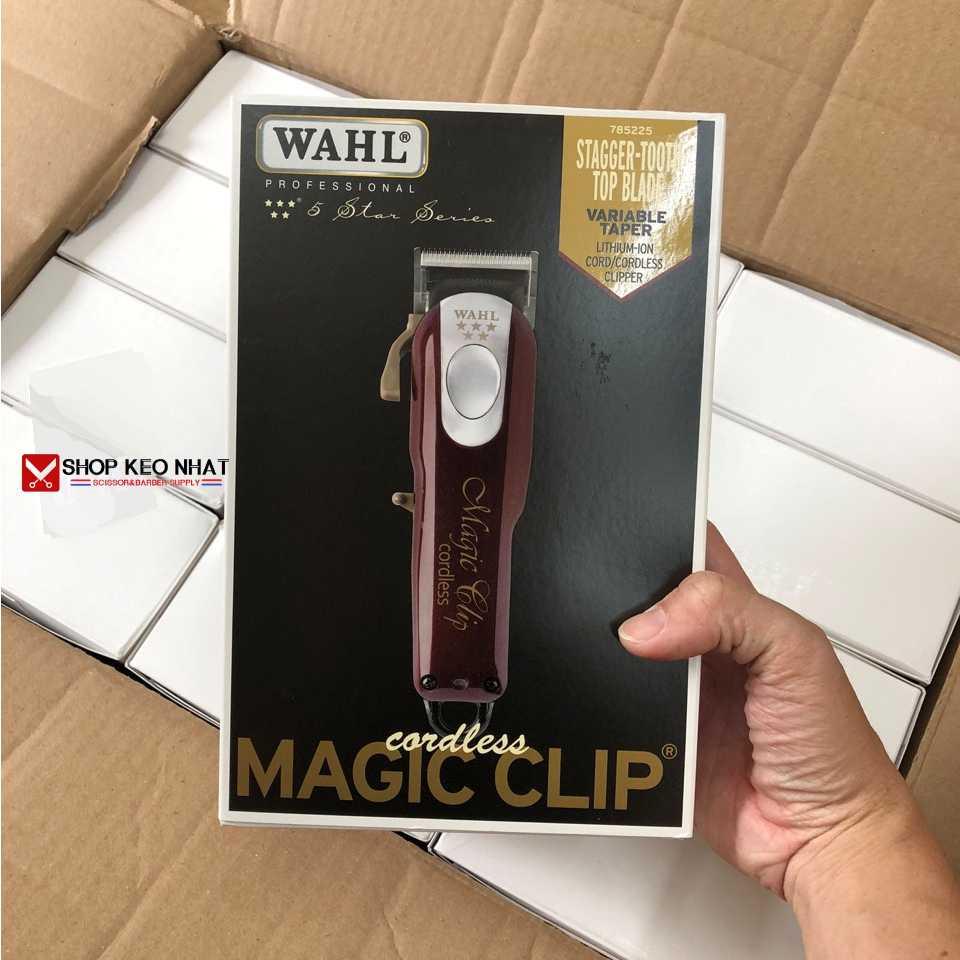 TÔNG ĐƠ MỸ WAHL MAGIC CLIP CORDLESS 2020