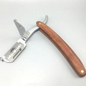 Dao cạo cán gỗ