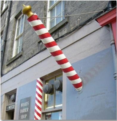 Ý nghĩa đèn Barber Pole