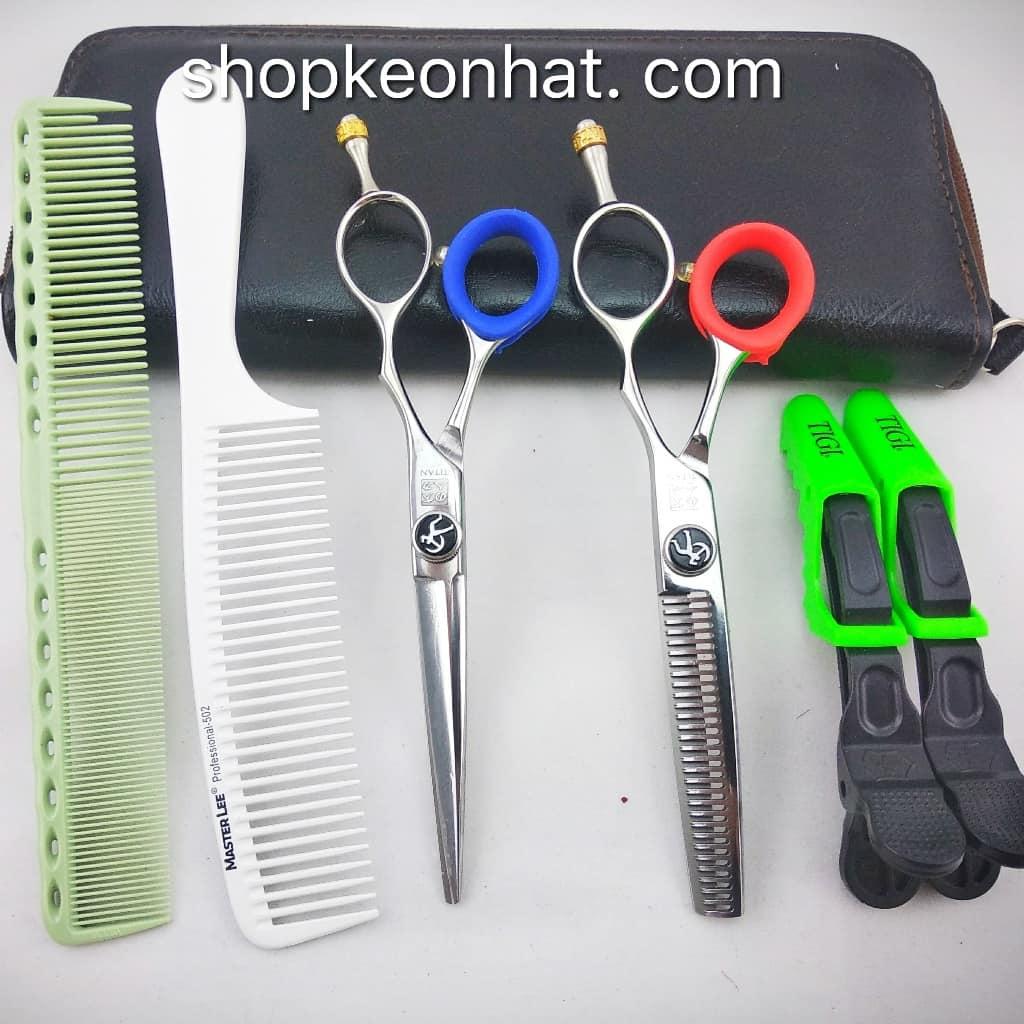 Bộ kéo cắt tóc chuyên nghiệp AT-01