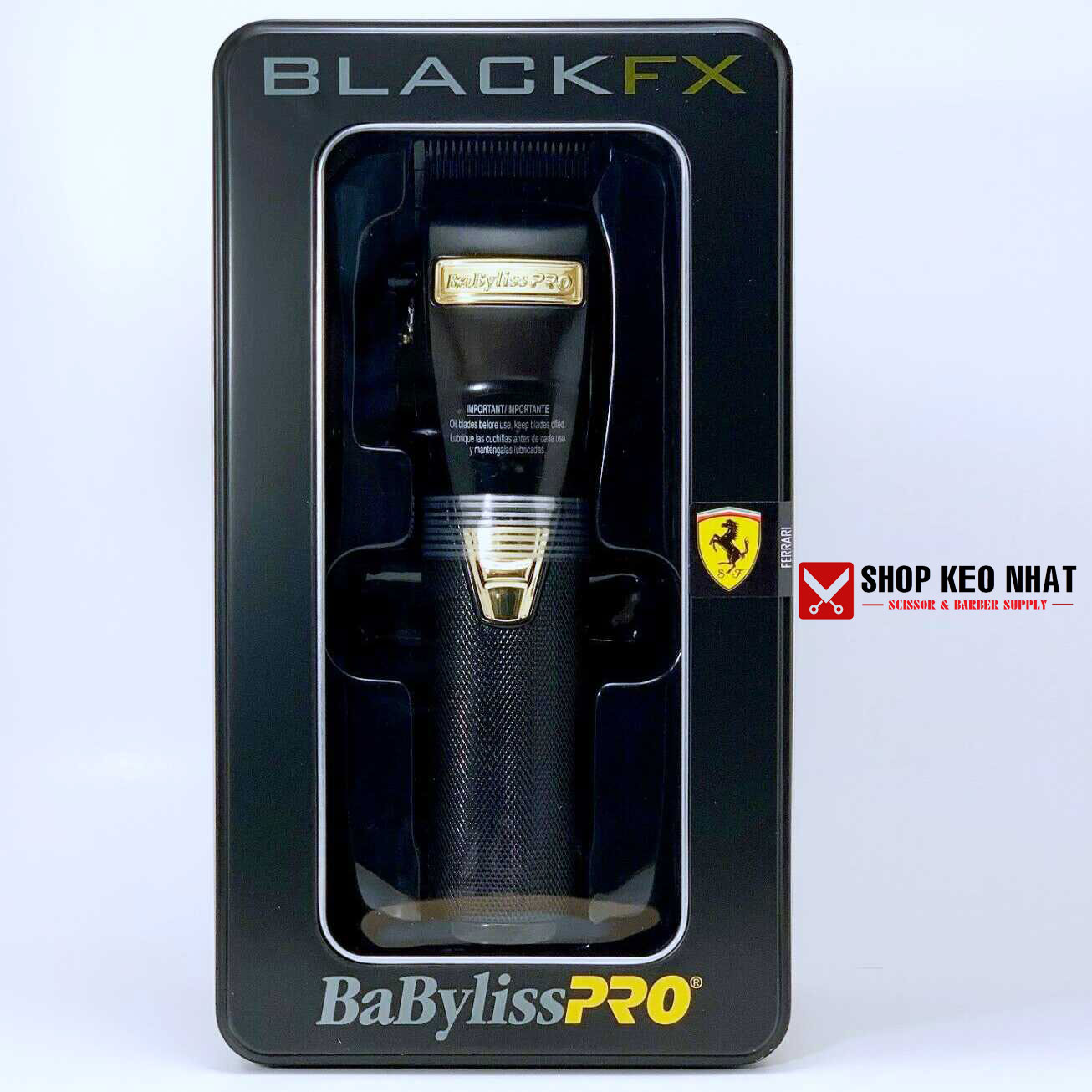 Tông đơ Babyliss Pro Black FX