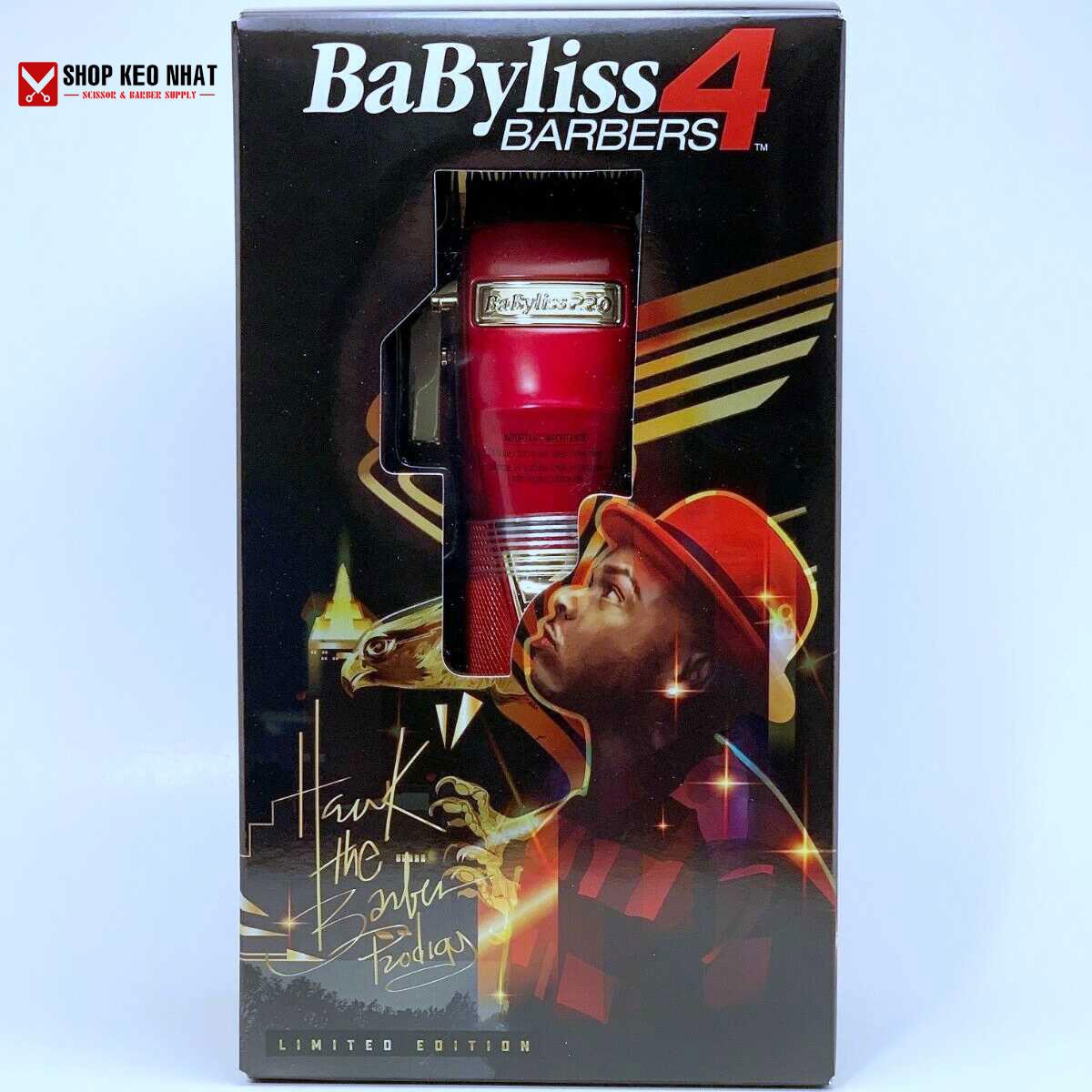 Tông đơ Babyliss Pro Red FX