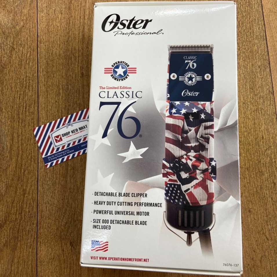 Tông đơ Oster 76 cờ mỹ